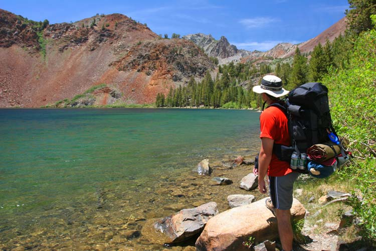 Backpacking Yosemite Nationaal Park
