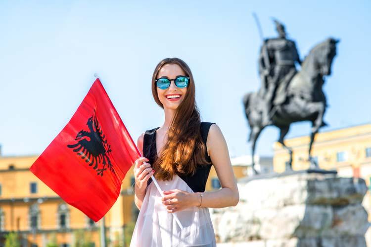 Albanezen zijn erg gastvrij