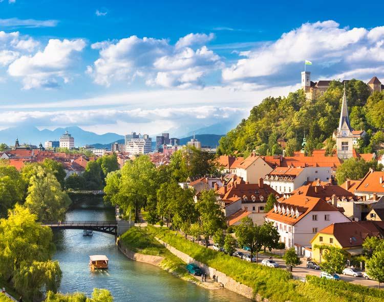 Ljubljana groene stad