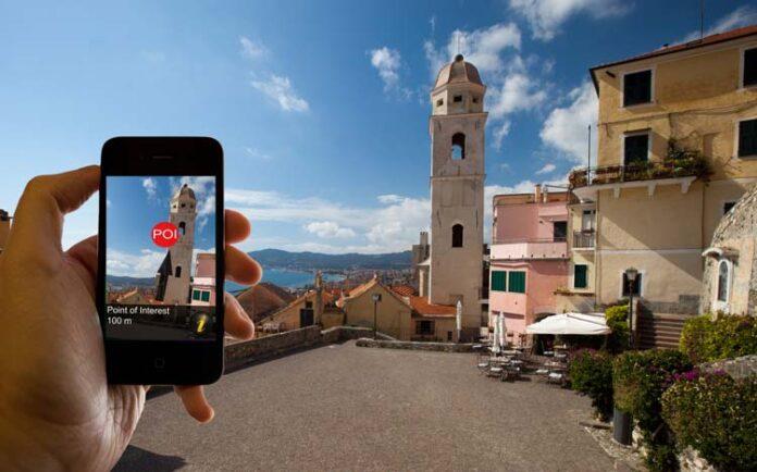 smartphone tijdens vakantie
