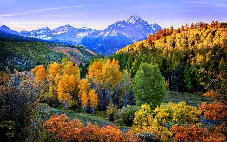 Colorado in de herfst