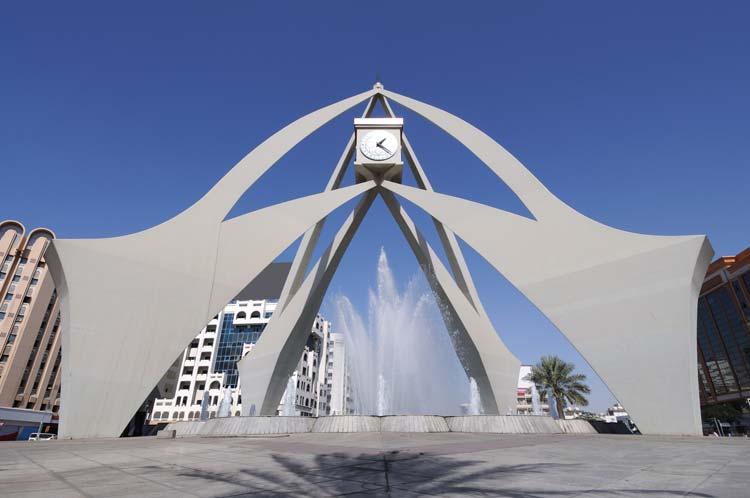 Deira klokkentoren in Dubai
