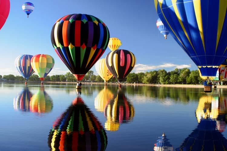 Heteluchtballonnen Colorado Springs