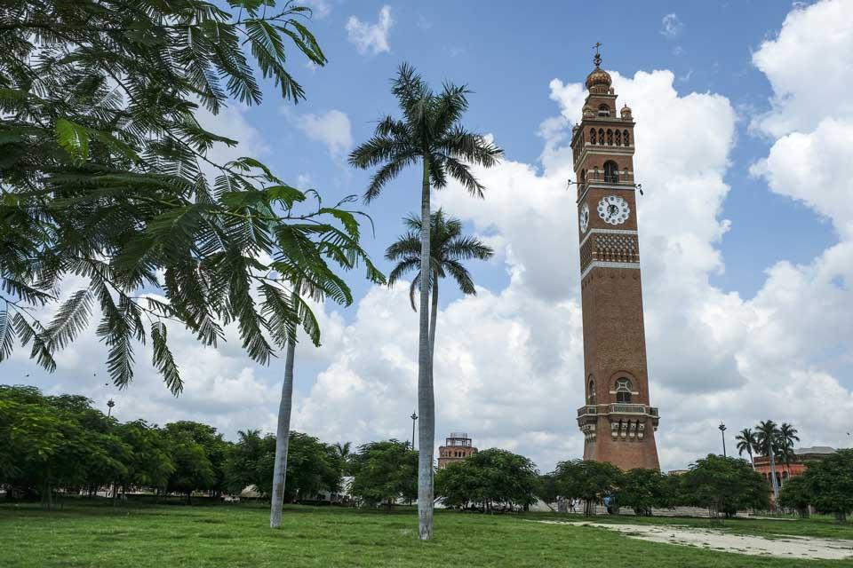 Husainabad klokkentoren in Lucknow
