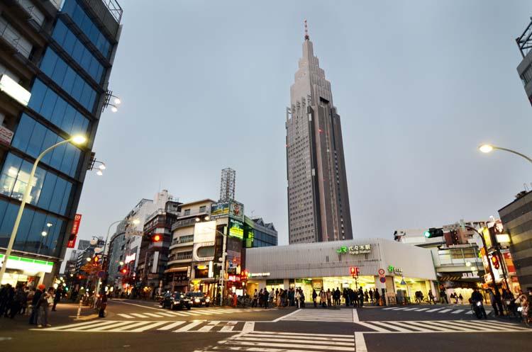 NTT Docomo Yoyogi-gebouw in Tokio