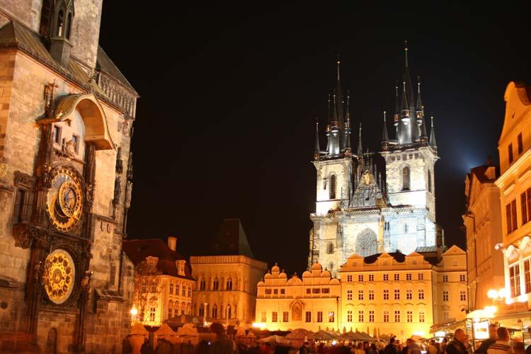 Oud stadhuis in Praag
