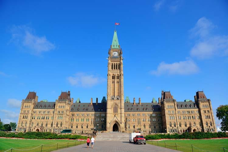 Parlementsgebouw Ottawa