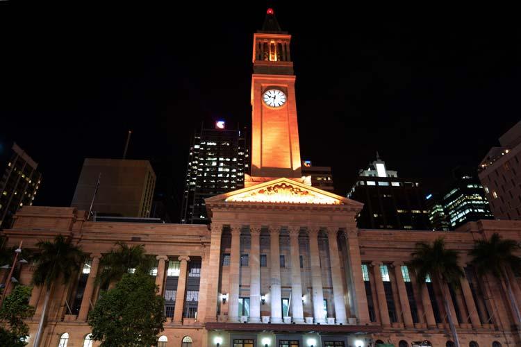 Stadhuis van Brisbane
