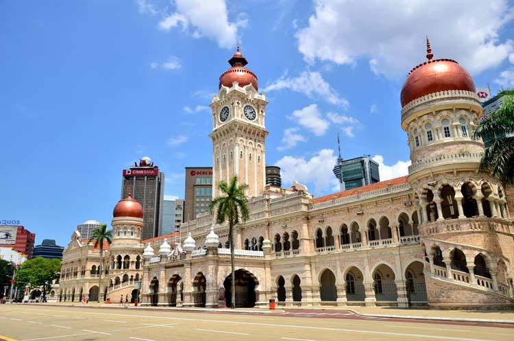 Sultan Abdul Samad-gebouw in Kuala Lumpur