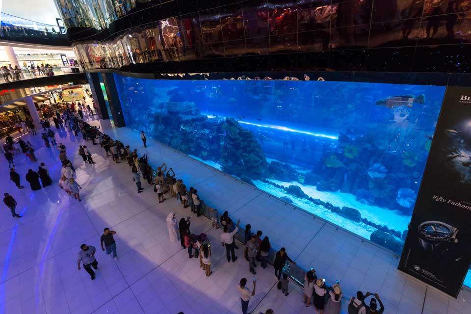 aquarium winkelcentrum Dubai