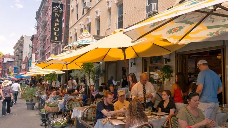 Eten en drinken New York