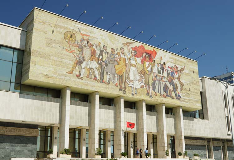 Nationaal historisch museum Tirana