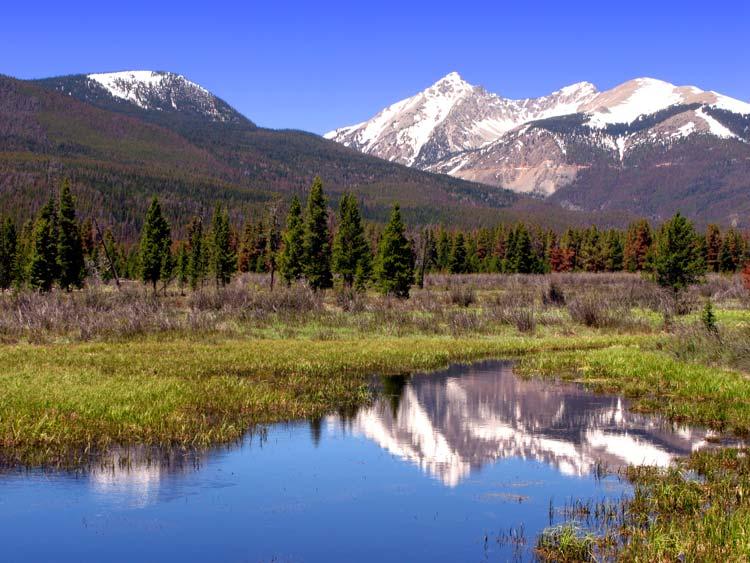 Nationaal park Rocky Mountain in Colorado