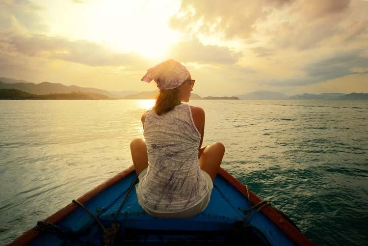 vrouwelijke reizigers